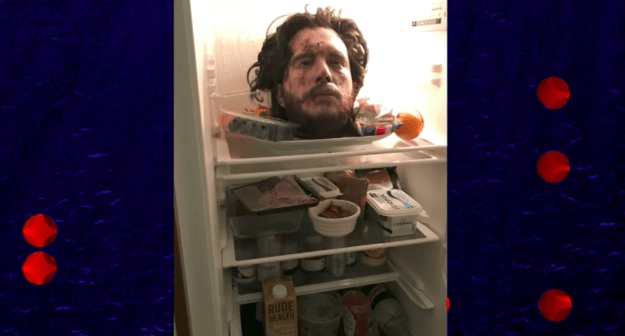 What was in the fridge? Well, here you go.