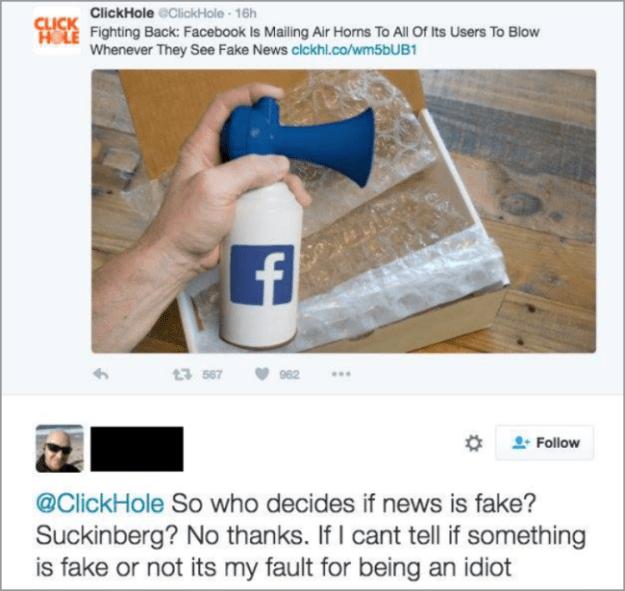 The fake news expert: