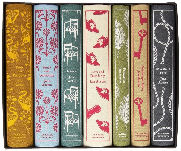 A particularly beautiful, cloth-bound boxed set of Jane Austen's novels for someone working on building their home library?