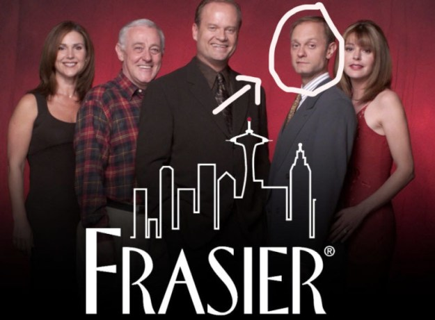 60. The guy that wasn't Kelsey Grammar from Frasier