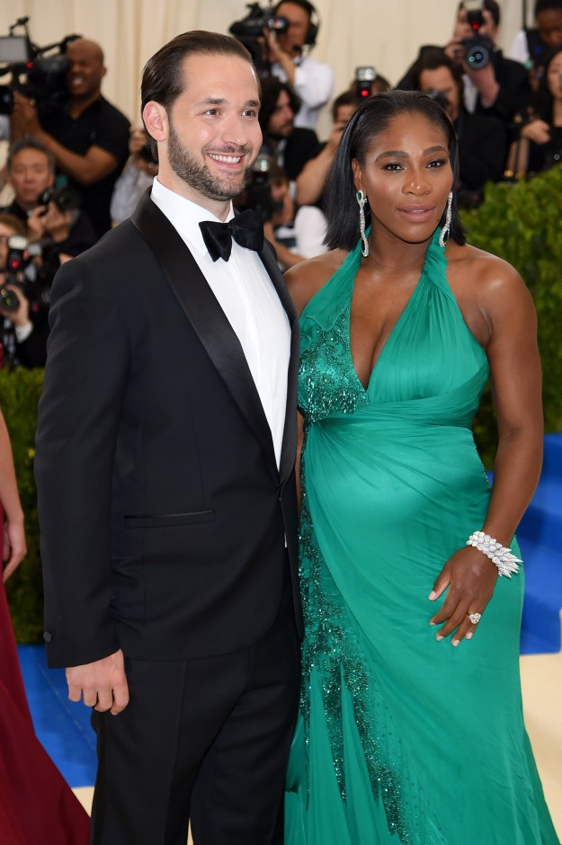 """ICYMI, Serena Williams, the GOAT, and Alexis Ohanian, """"Mayor of the Internet"""" (aka the co-founder of Reddit), got engaged back in January."""