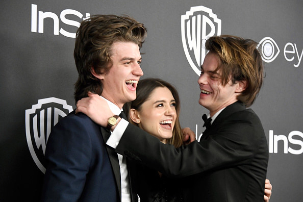When these three were the most adorable group at the Golden Globes: