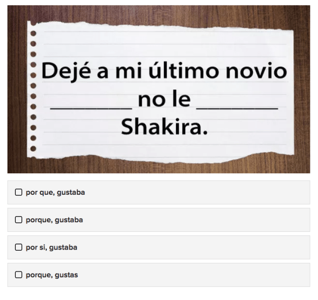Can you actually carry a conversation in Spanish? Take this fill-in-the-blank quiz and see for yourself.