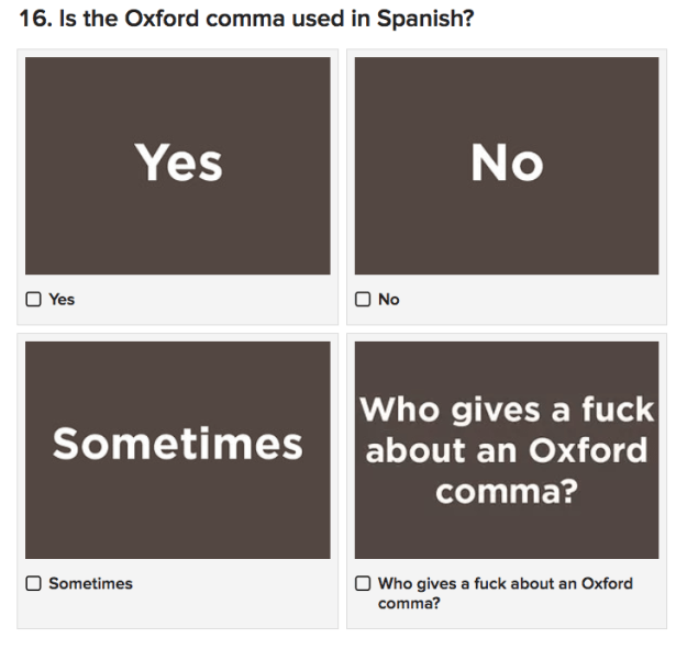 OK, so maybe you can speak some Spanish, but how's your grammar? Take this tricky quiz and find out.