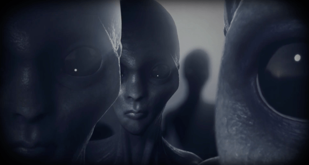 Theory Four: The colonists were abducted by aliens.