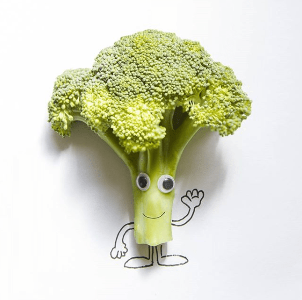 This broccoli that will make you feel warm and fuzzy.