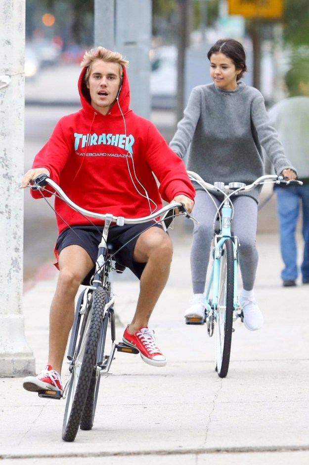 Ever since Selena Gomez split with The Weeknd last month, she's been spotted out with her high-profile ex, Justin Bieber, on several different occasions.