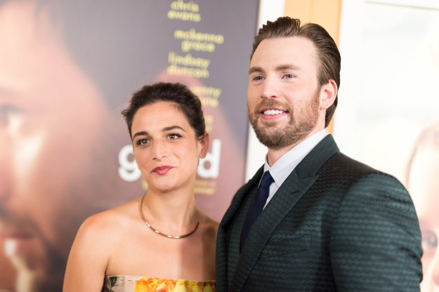 Remember when Chris Evans and Jenny Slate were together?