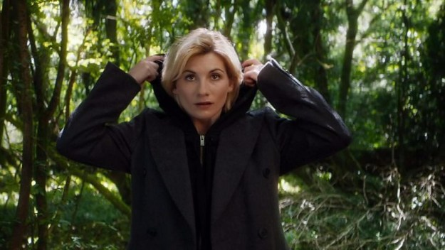 At the time, we got our first look at Jodie's regeneration wearing a hoodie and a big coat, which, sure, is comfy, but is definitely not a look worthy of the Doctor.
