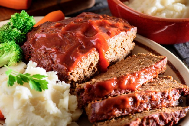 Maybe it's your dad's meatloaf with your grandma's apple pie for dessert.