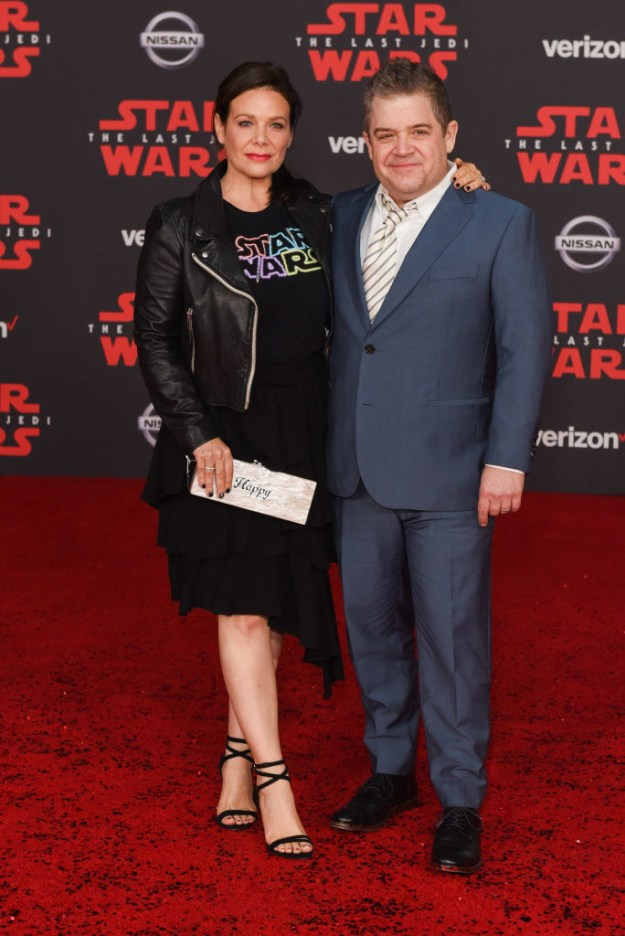 Meredith Salenger and Patton Oswalt