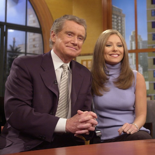 Over the years, she's had three permanent cohosts: Ryan Seacrest, Michael Strahan, and — of course — Regis Philbin.
