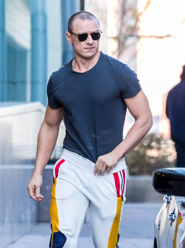 It has recently come to my attention that apparently James McAvoy is *now* hot.