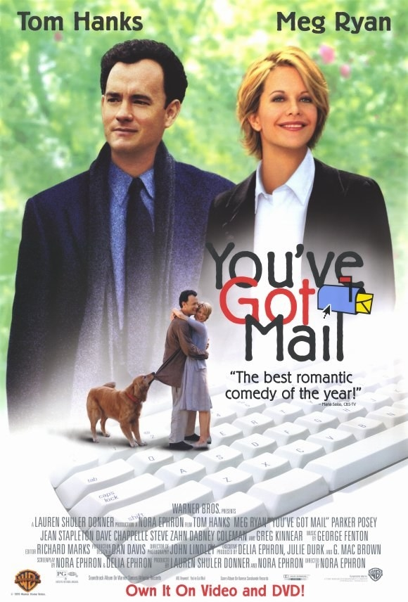 And her favorite Nora Ephron romantic comedy is You've Got Mail.