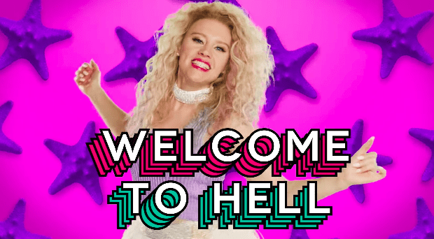 """The video then welcomes men to the """"hell"""" that women have been living in their entire lives."""