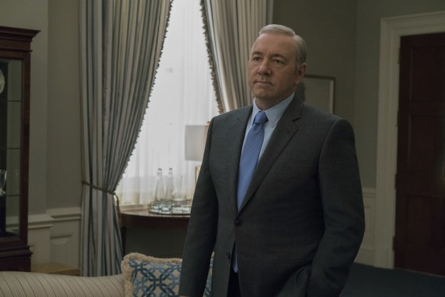 """Sarandos, who spoke at UBS's Global Media and Communications Conference in New York on Monday, said he was glad they reached an agreement to continue the show for the 370 people who work on House of Cards, as well as """"the 2,000 people in Baltimore"""" — where the Netflix series shoots — who also work on the show."""