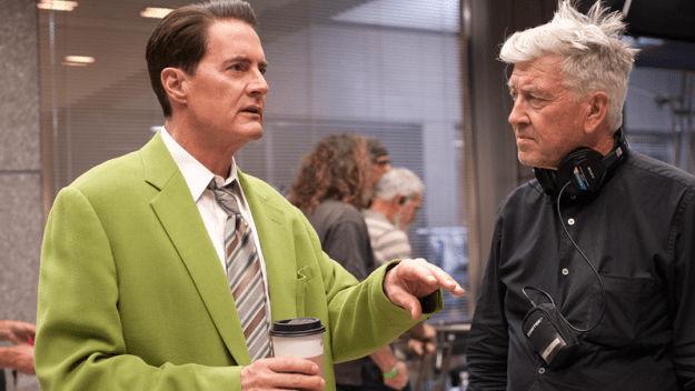 And finally, MacLachlan's first day on set for Twin Peaks: The Return was September 28, 2015.