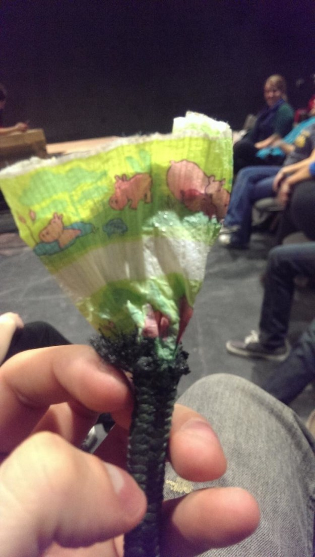 Ever wondered what's inside a rope? In many cases, it's a bunch of recycled baby diapers.