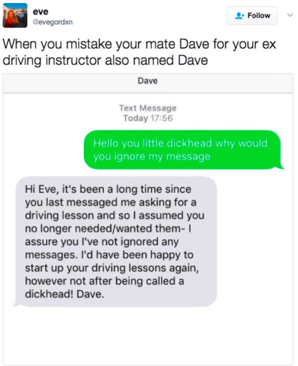 The Dave disaster: