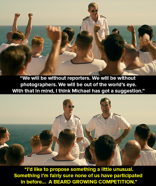 In episode two, Philip (Matt Smith) and his ship is heading towards Antarctica. He makes a speech, then his secretary, Michael Parker (Daniel Ings), has an idea.