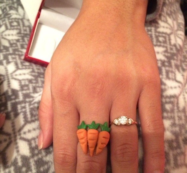 This boyfriend who got his partner the 3-carat ring she asked for.