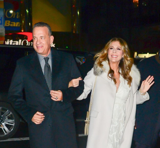 Tom Hanks and Rita Wilson looked like an old-Hollywood era glamour couple.