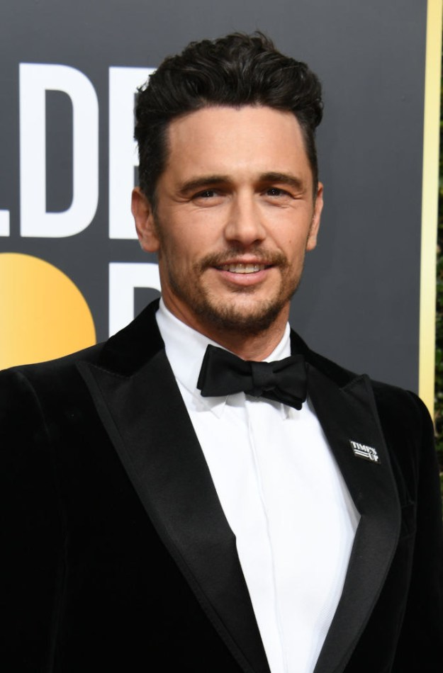 Franco attended the Golden Globes on Sunday, Jan. 7, where he won for Best Actor in a Motion Picture — Musical or Comedy, and also donned a #TimesUp pin.