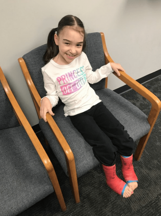 """Rylee currently can't walk without assistance, and she crawls around our house or we carry her,"" wrote her family members. ""Rylee can say a few words but can't carry on a conversation."""