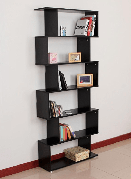 This book shelf that will motivate you to read more so you can display your conquered books as trophies.