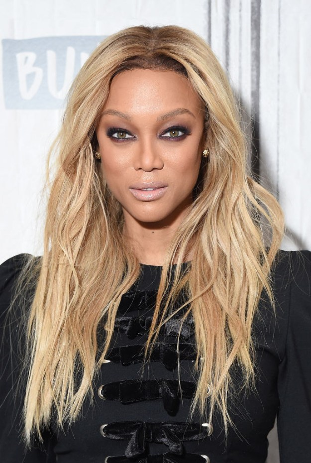Tyra Banks: entrepreneur, supermodel, talkshow host, actress, and inventor of the smize.