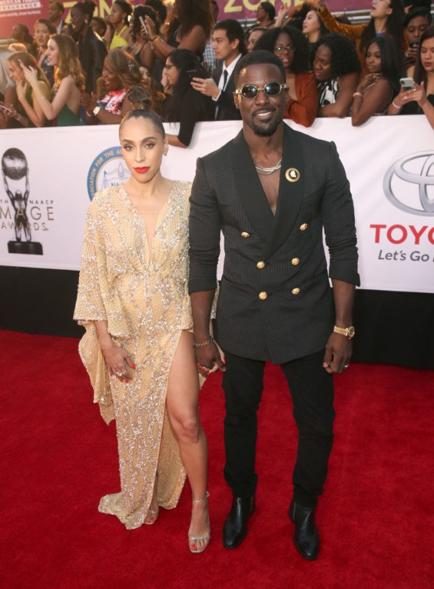 Rebecca Jefferson (L) and Lance Gross