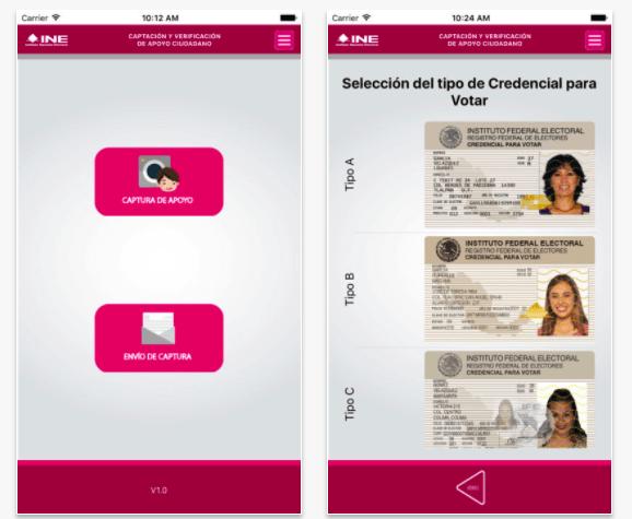 La recolección de firmas se debe hacer desde una app que el INE diseño y que cuenta con medidas de seguridad para evitar fraudes.