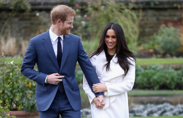 When Harry adoringly couldn't keep his eyes off Meghan.