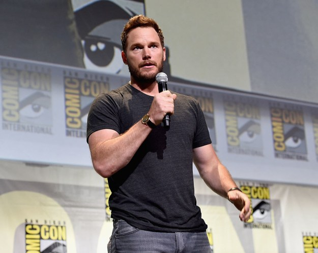 Then you have Chris Pratt, who could make a rumble in my Jurassic Park any day of the week.