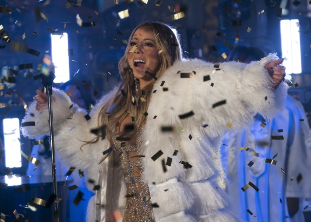 Mariah Carey redeemed herself on New Year's Eve...