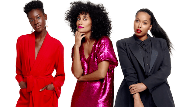 As you can see, the ladies truly loved Tracee Ellis Ross's new size-inclusive clothing line!