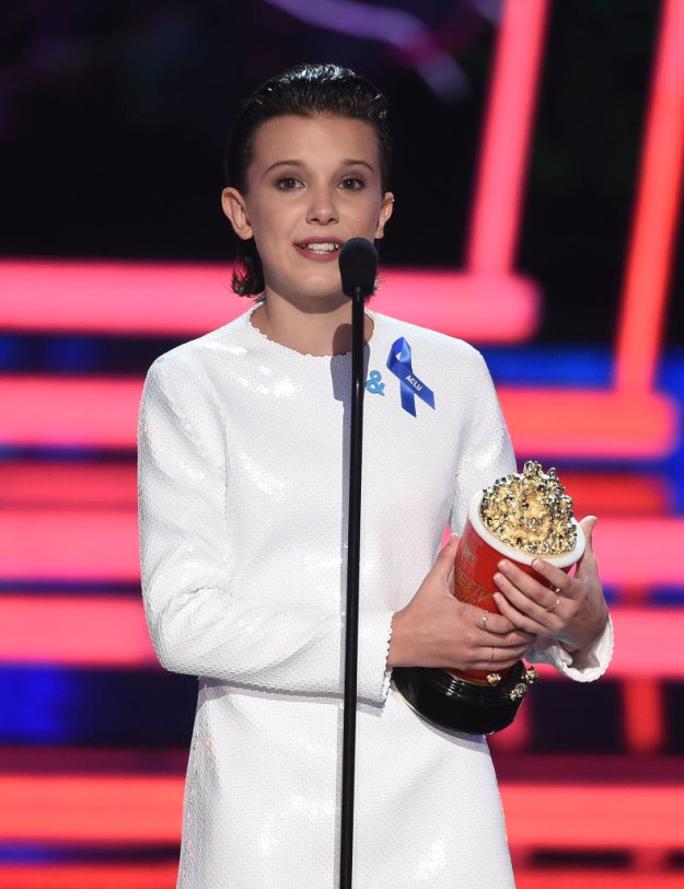 Not only is she amazing on Stranger Things, she's hilarious, smart, and can rap AND sing.