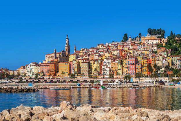 10. Die Sonnenstadt Menton an der französischen Riviera: