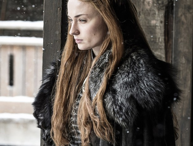 """As you're probably aware, Sophie Turner — aka Sansa """"how-do-you-answer-these-charges-Lord-Baelish"""" Stark — is engaged to Joe Jonas."""