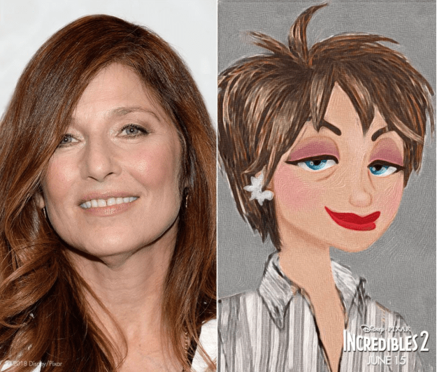 Catherine Keener will voice new character Evelyn Deavor.