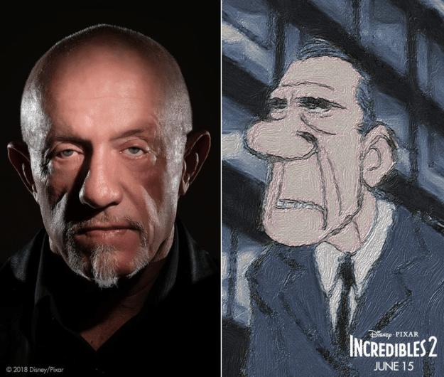 Jonathan Banks will voice Rick Dicker.