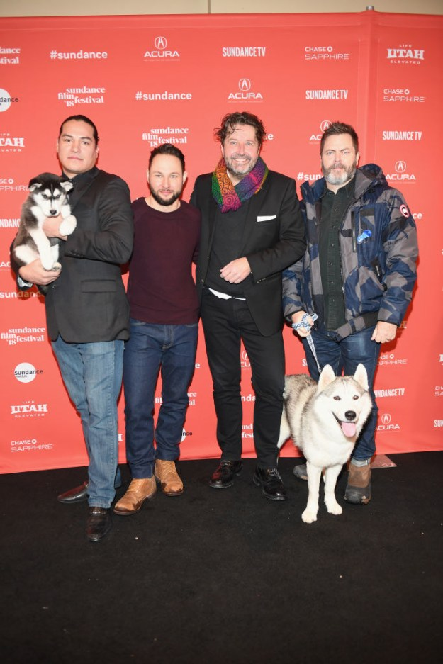 And the filmmakers brought two Arctic Rescue dogs to the Sundance premiere this weekend.