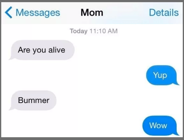 This savage mother: