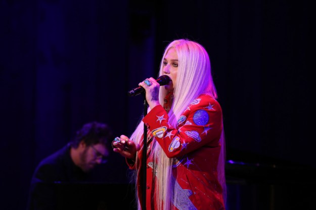 """""""When I wrote 'Praying,' with Ben Abraham and Ryan Lewis, i just felt as if I had gotten a huge weight off of my shoulders,"""" she said."""