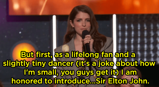 "Anna Kendrick's ""Tiny Dancer"" joke fell flat:"