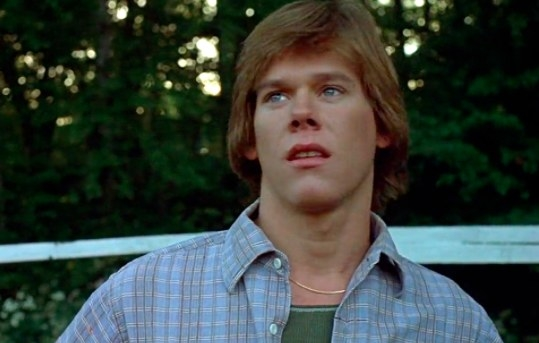 Kevin Bacon played Jack Burrell, one of the first camp counselors in Friday the 13th in 1980.