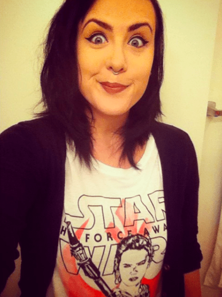 Hi, I'm Allie. In case you're new here, I love Star Wars.
