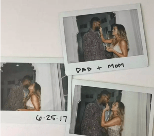 It's not the first time she's used a caption referencing their new roles as parents. In fact, back in June Khloé posted these Polaroids with the same words, leading many to speculate that this was around the time she discovered she was pregnant.