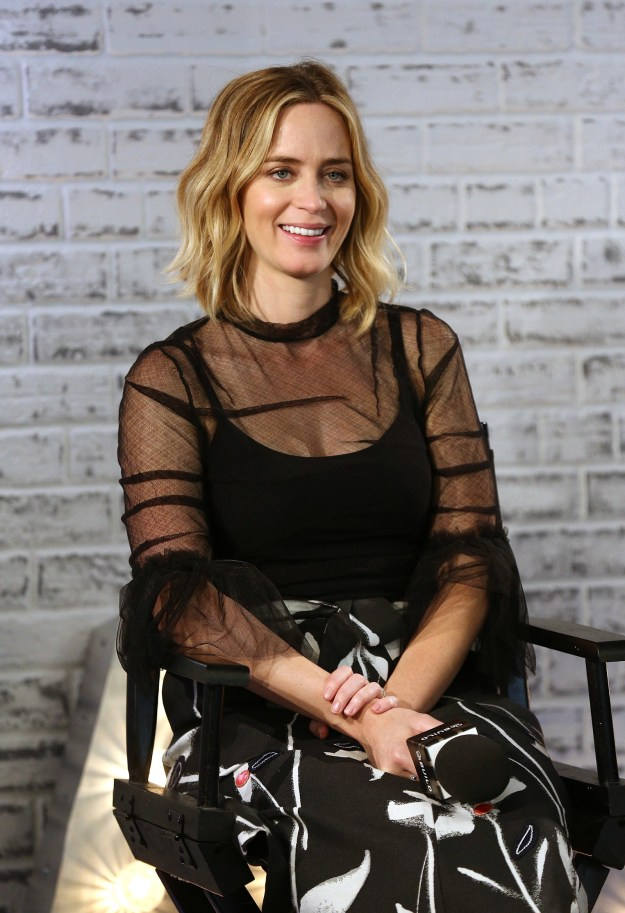 """Speaking to Vanity Fair, John said Emily's acting ability is comparable to a """"superpower""""."""