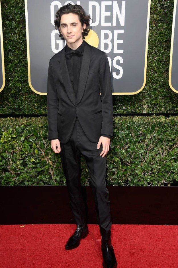 And yes, Timothée didn't win the Golden Globe, but he still won the Golden Globes, know what I mean? He absolutely killed the red carpet.